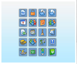Icons Designed For A Hotel Management Software - January 2009