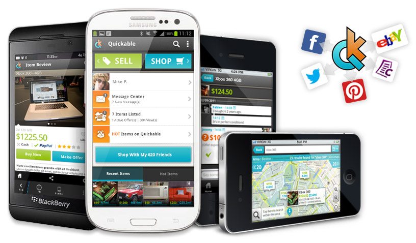 Quickable was build to make easy to list and manage items for sale across multiple platforms from any type of mobile device.