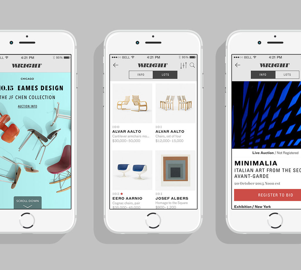 Fully Custom IOS App Designed For Wright - July 2015