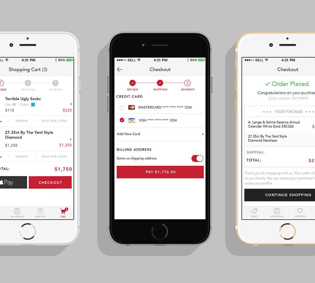 Mockup Retail App 2